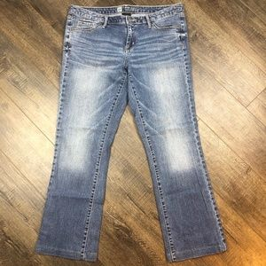 Mossimo Modern Bootcut Blue Jeans Pants (12L)